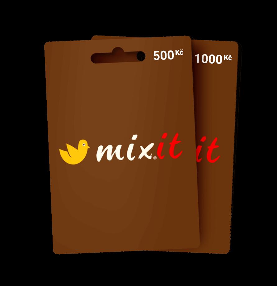 Dárkové poukazy Mixit